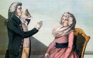 催眠的英文 mesmerism 就是來自梅斯梅爾的名字、催眠、心理學、催眠師